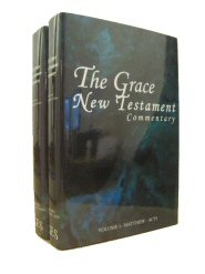 The Grace New Testament Commentary