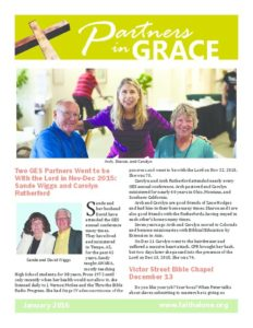 Partners in Grace Cover - January 2016