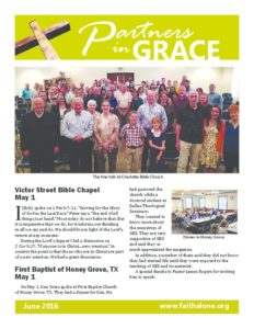 Partners in Grace Cover - June 2016