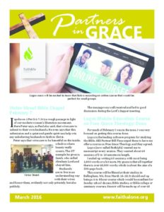 Partners in Grace Cover - March 2016