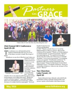 Partners in Grace Cover - May 2016