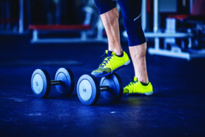 Fitness instructor at the gym - Control your mind, conquer your