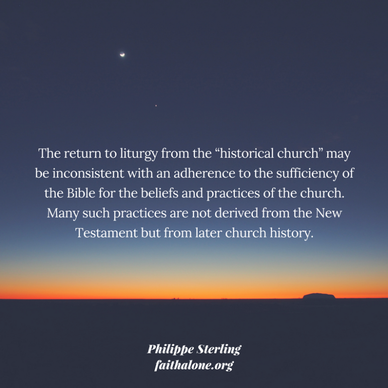 Why We Should be Wary of Adding Extra-Biblical Rituals to ...
