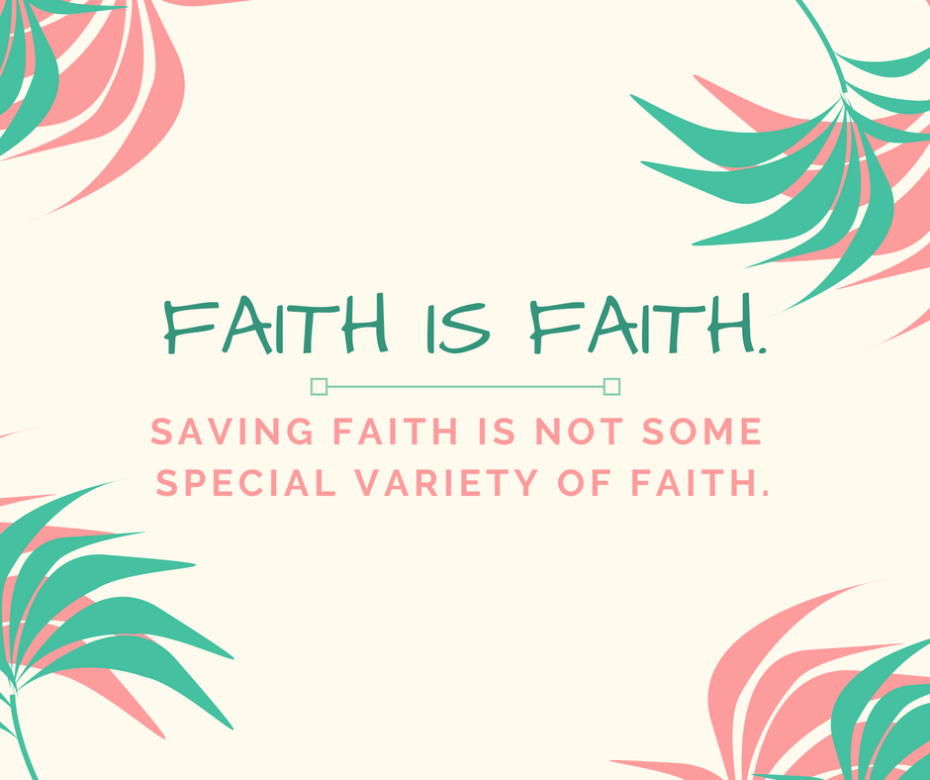If Faith Is Intellectual Assent, Then What Is Believing in